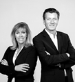 Gillian Oxley, Sales Representative and Joseph Robert, Broker