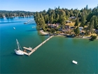 Puget Sound Waterfront Home With Deep-Water Dock on Raft Island Near Gig Harbor WA