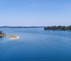 SOLD  Puget Sound Waterfront Custom Home, 2.14 Acres, Wheelchair Accessible