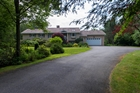 Executive Rothesay Home on Two Lush Private Acres of Waterfront Plus Beach Rights!