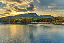 Lake Lure, North Carolina luxury mountain estate