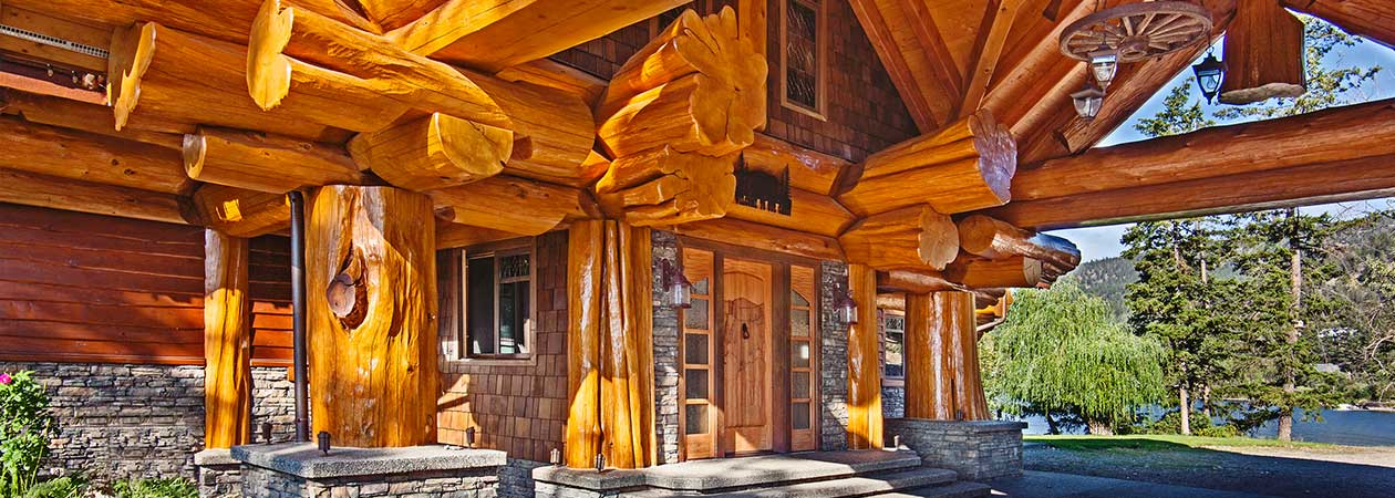 Luxury homes real estate and the brokers who sell them for Selling a log home