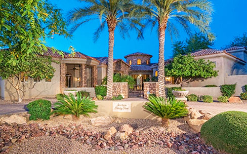 Chandlers Prestigious Gated Community Eden Estates luxury homes