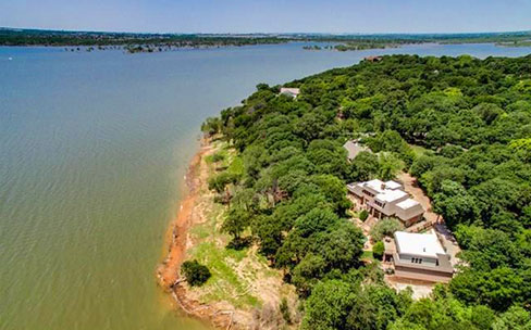 Flower Mound, Texas waterfront luxury homes